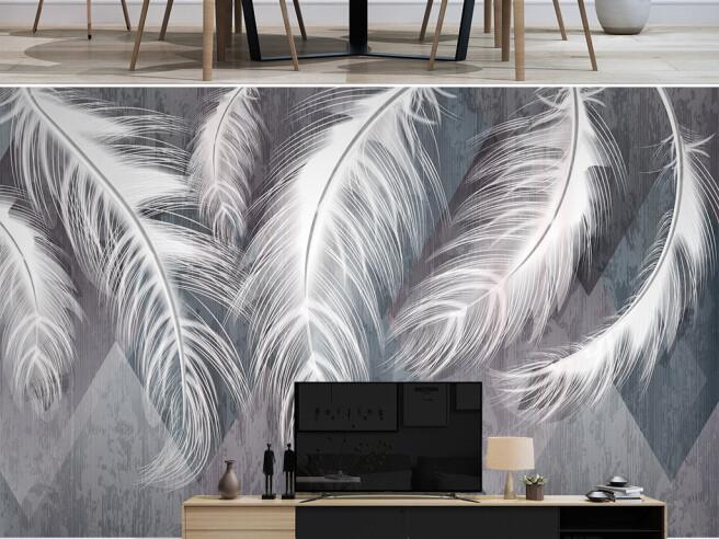 Висячие перья