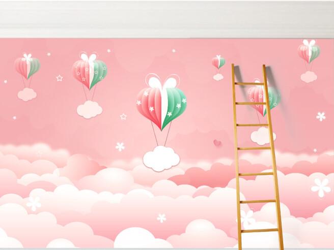 Фотообои Розовые небеса