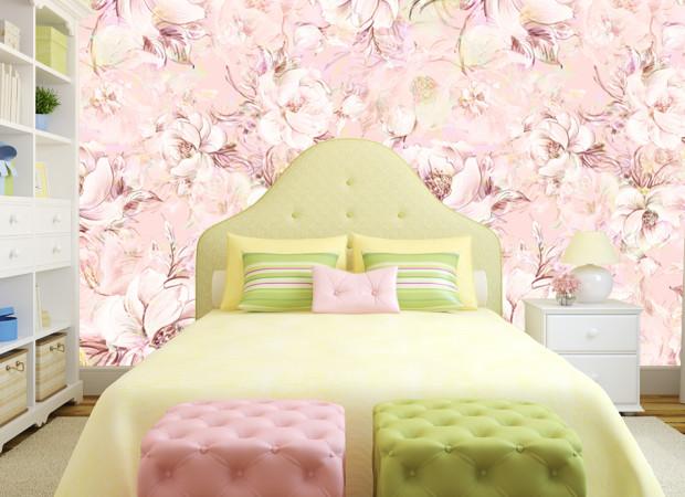 розовый паттерн