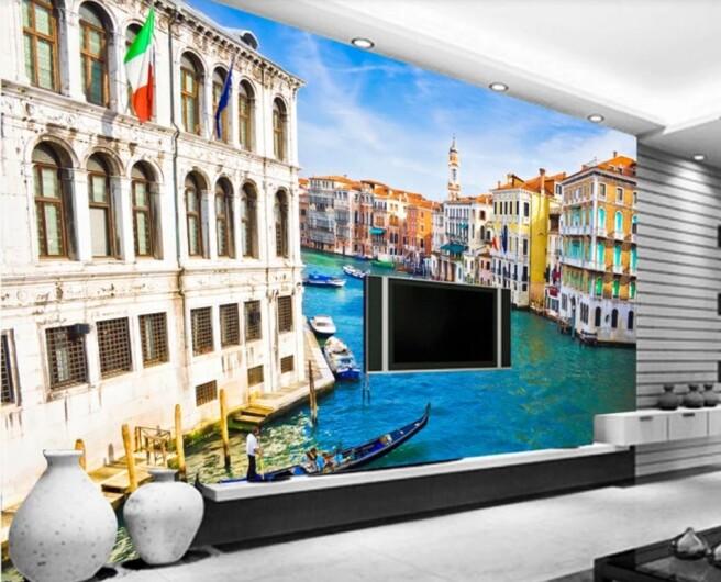 Фотообои венеция роспись