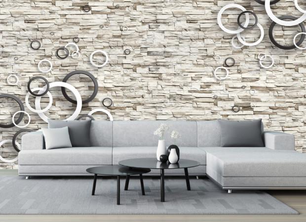 круги на стене