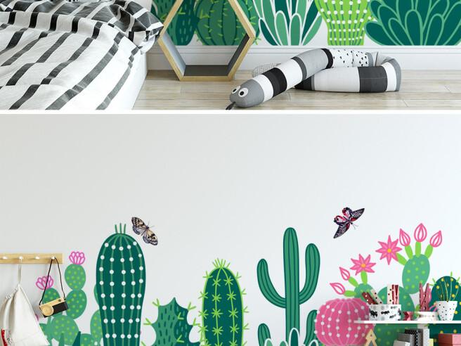 Фотообои Разнообразные кактусы