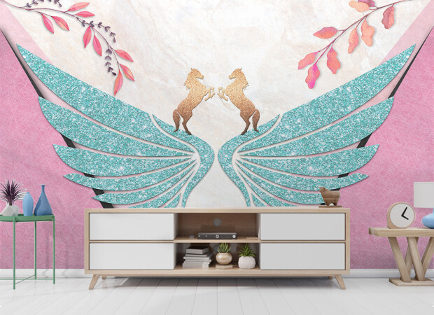 Берюзовые крылья