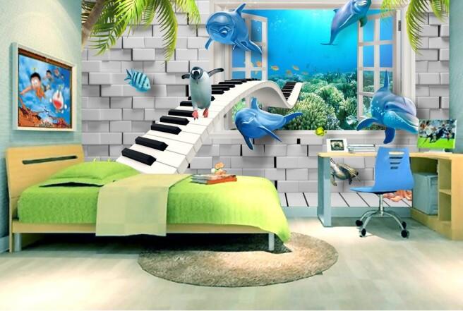 Клавишная дорога и дельфины