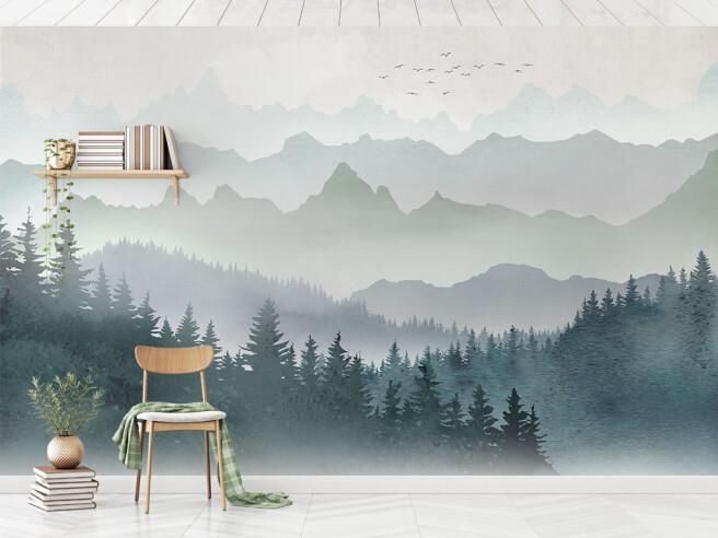 Туманные горы