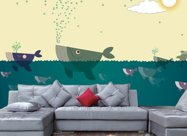 Стайка китов