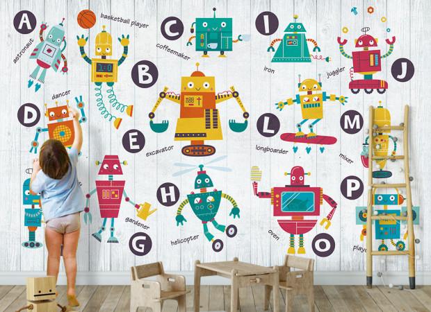 Роботы с алфавитом