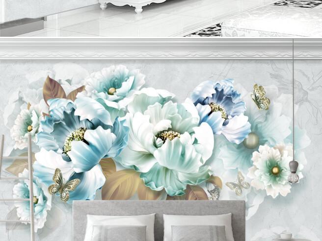 Фотообои Воздушные цветочки