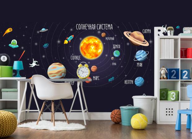 солнечная система в детскую