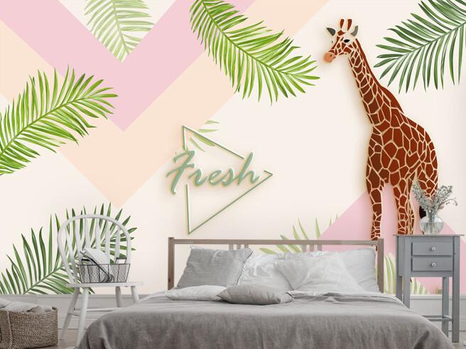 Жираф и свежесть