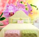 Фотообои сиреневая орхидея