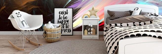 Фотообои Краски на стене