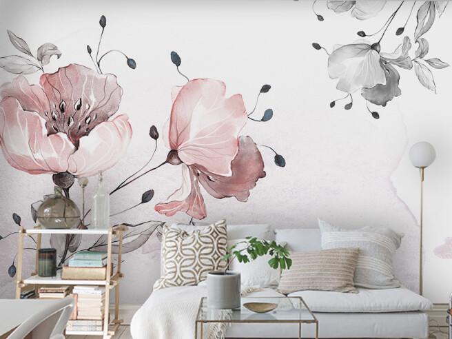 Фотообои Три цветка