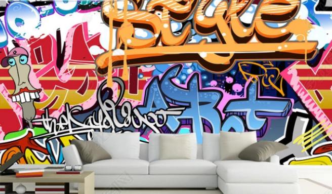 Фотообои граффити 6