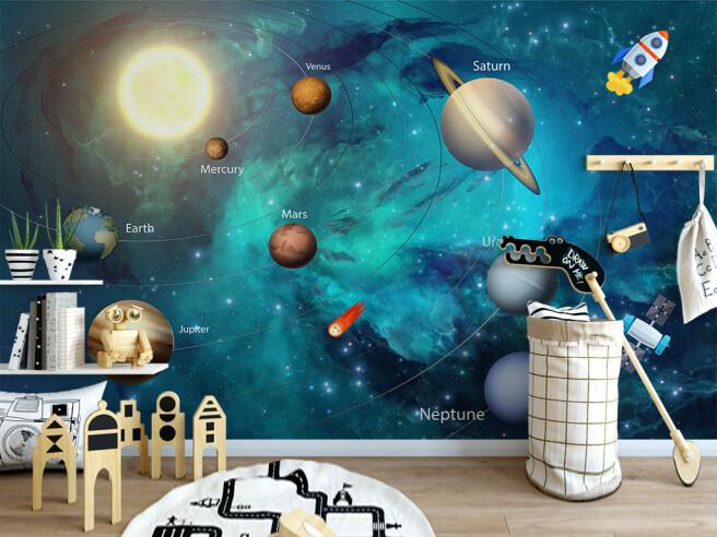 Фотообои Исследование солнечной системы