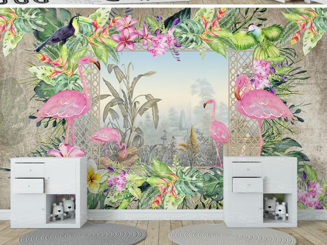 Окно в тропический рай