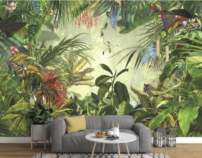 Фотообои тропическая природа