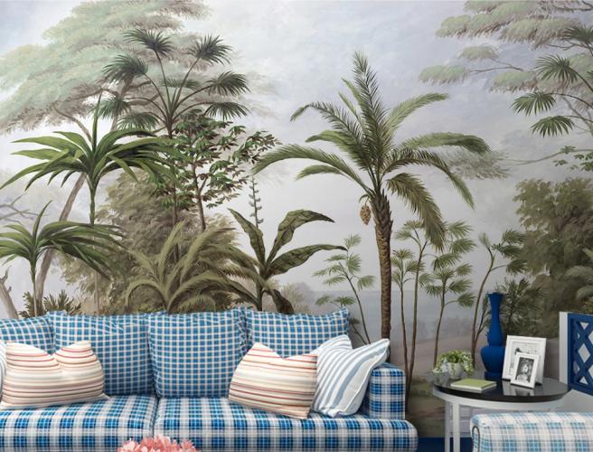 Фотообои тропические пальмы