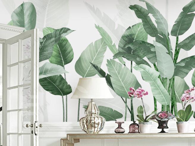 Фотообои Огромные листья