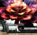 огненный цветок в 3д