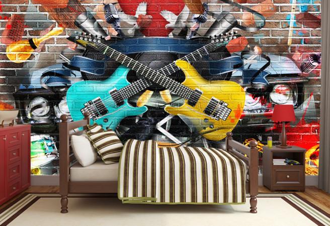 Фотообои две гитары