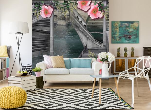 Мосты и цветы