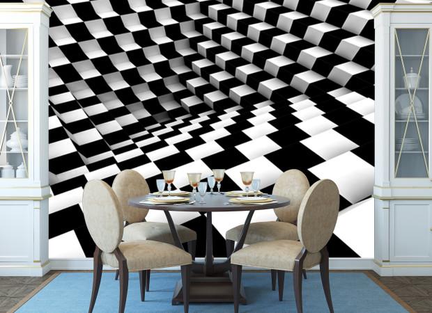 Шахматное 3д