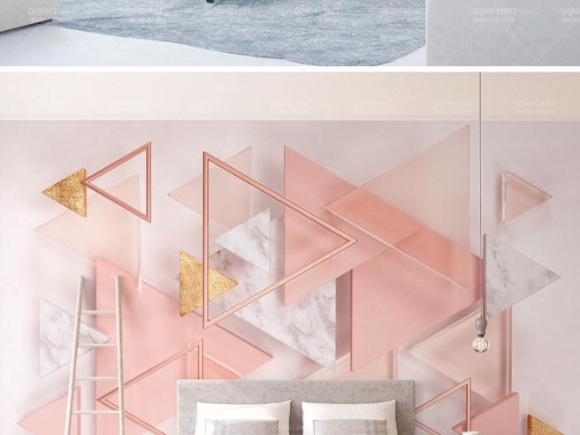 Розовые треугольники