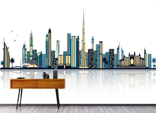 Вид на Дубай