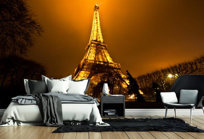 Фотообои ночной париж