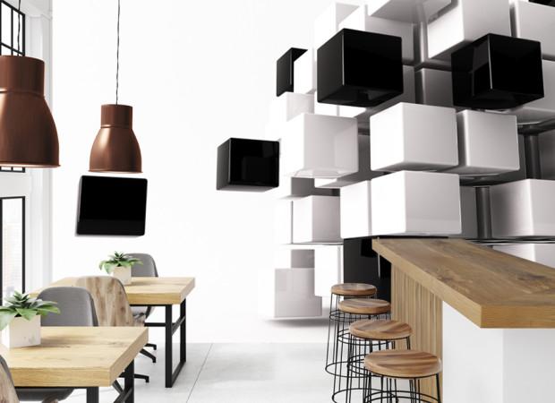 Черно-белые кубы