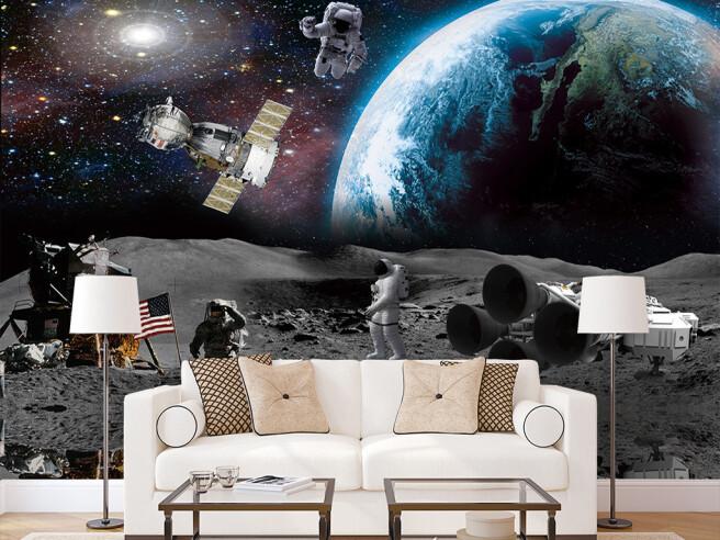 Спутник на орбите Земли