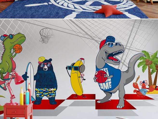 Динозавры — баскетболисты