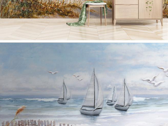 Яхты у берега