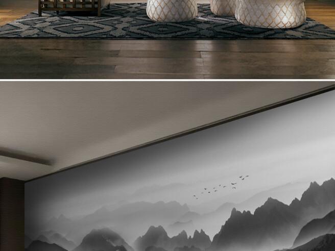 Фотообои Туманные горы