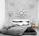 Фотообои цветы из шаров