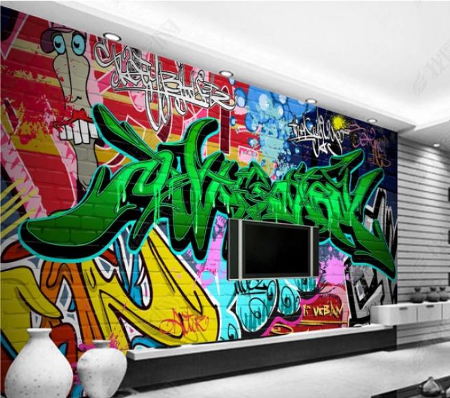 Фотообои графити 5