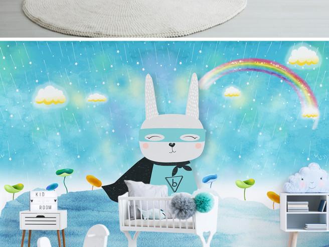 Фотообои Супер заяц
