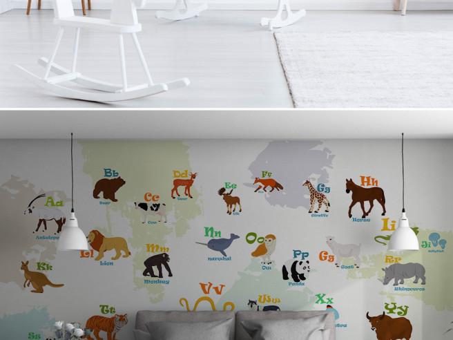 Животные и их буква