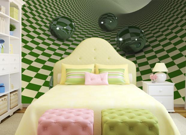 Зеленая шахматка
