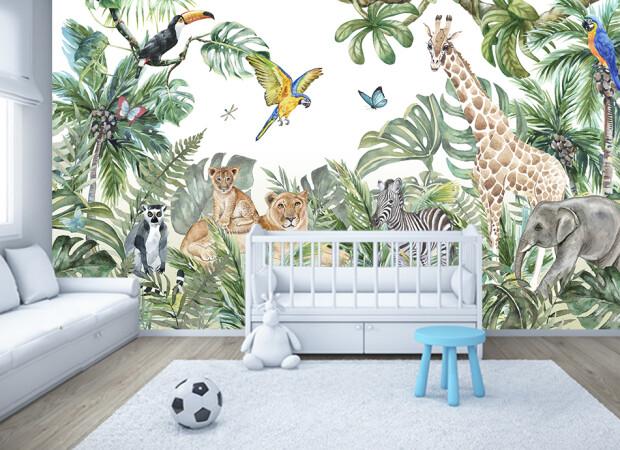 джунгли в детской