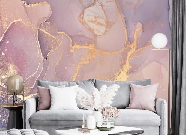 нежно розовый флюид
