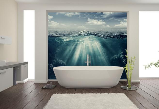 Фотообои Подводный свет