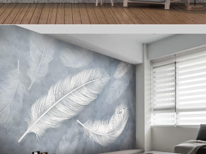 Фотообои Крупные перья