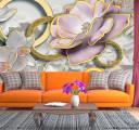 Фотообои Ювелирные цветы