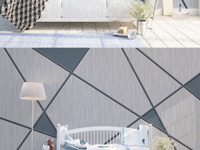 Серая треугольная стена