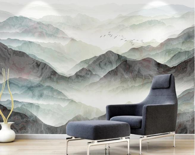 Фотообои горы с отливом