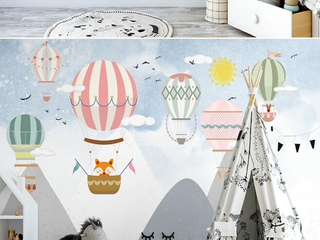 Воздушные шары с узорами