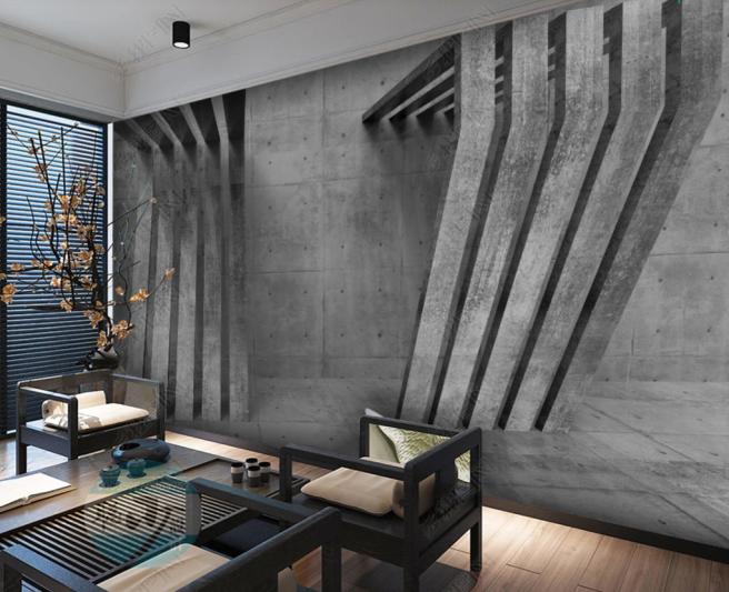Фотообои бетонные панели