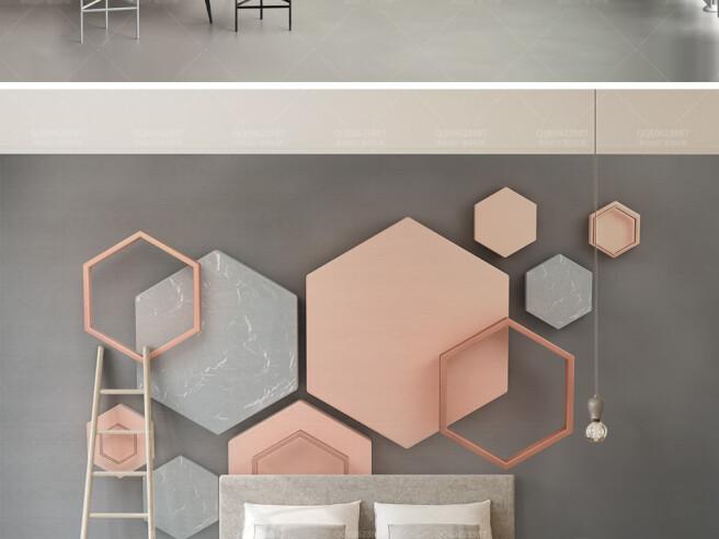 Трехмерная шестиугольная мозаика